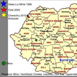 Waar in Roemenië?